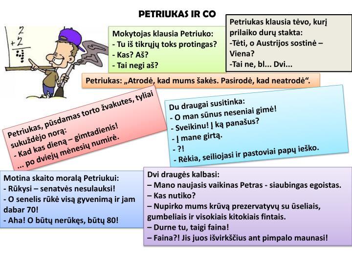 PETRIUKAS IR CO