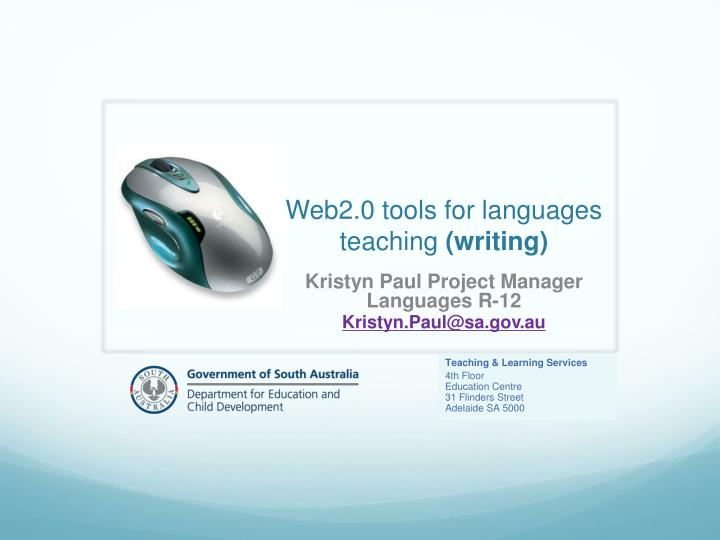 Web2 0 tools for languages teaching writing