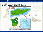 a bit about sankt croix