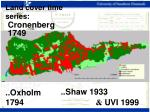 land cover time series