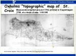 oxholms topographic map of st croix