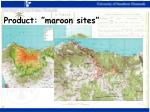 product maroon sites