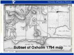 subset of oxholm 1794 map