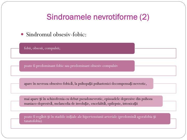 Sindroamele nevrotiforme (2)