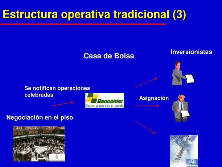 Estructura operativa tradicional (3)
