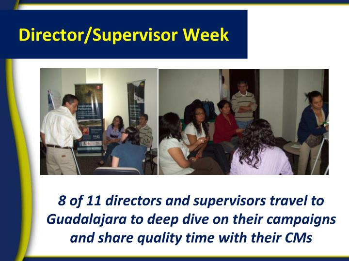 Director/Supervisor Week
