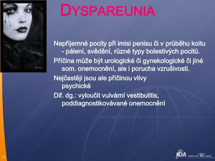 Dyspareunia