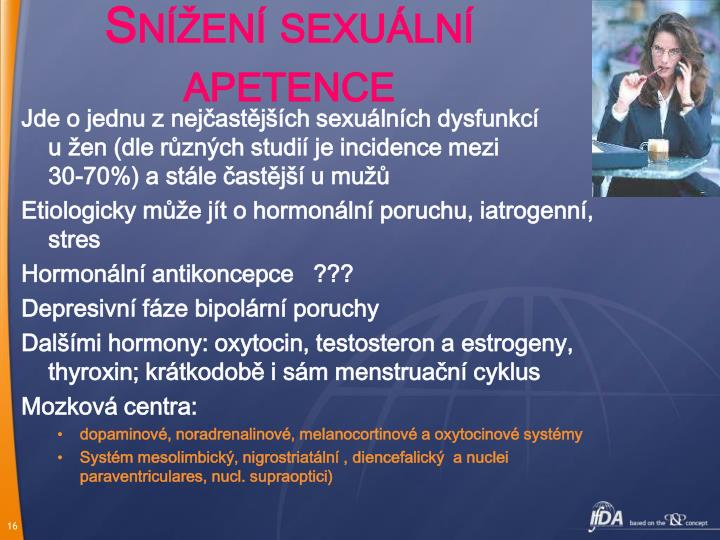 Snížení sexuální