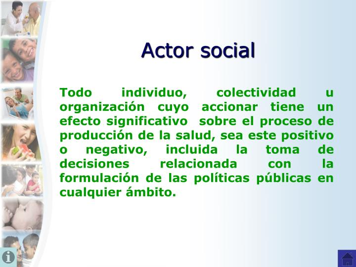 Actor social