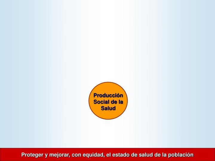 Producción Social de la Salud