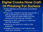digital crooks hone craft of phishing for suckers