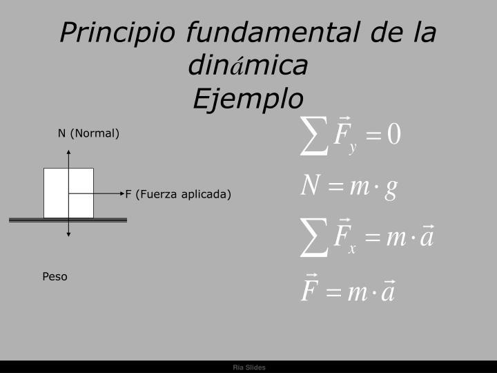 Principio fundamental de la din