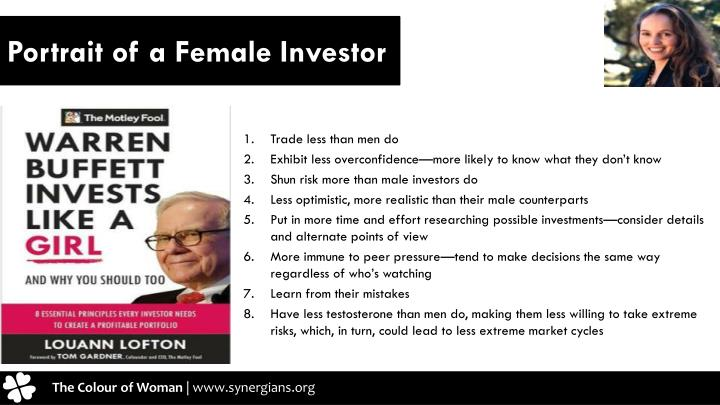 Portrait of a Female Investor