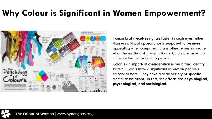 Why Colour is Significant in Women