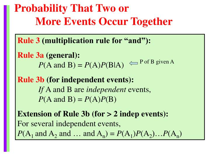 Probability That Two or