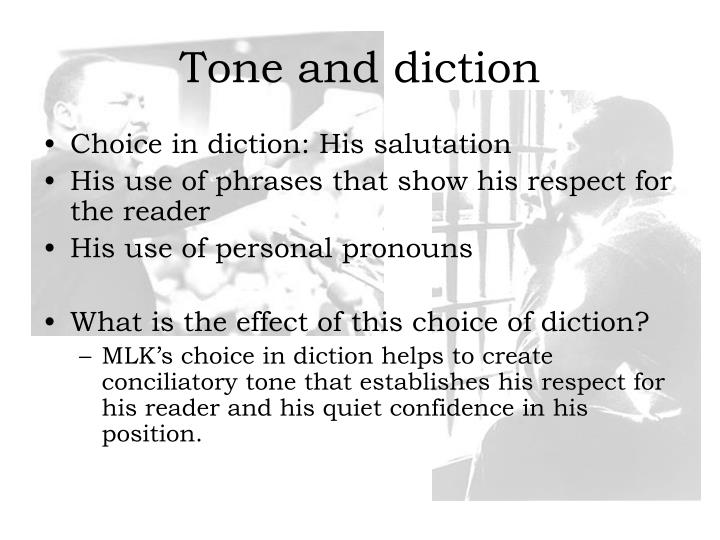 diction and tone In combination, syntax and diction help writers develop tone, mood, and atmosphere in a text, along with evoking readers' interest examples of syntax in literature syntax in poetry.