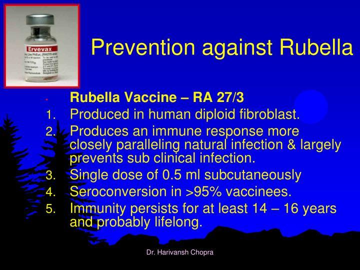 PPT - Rubella – German Measles PowerPoint Presentation