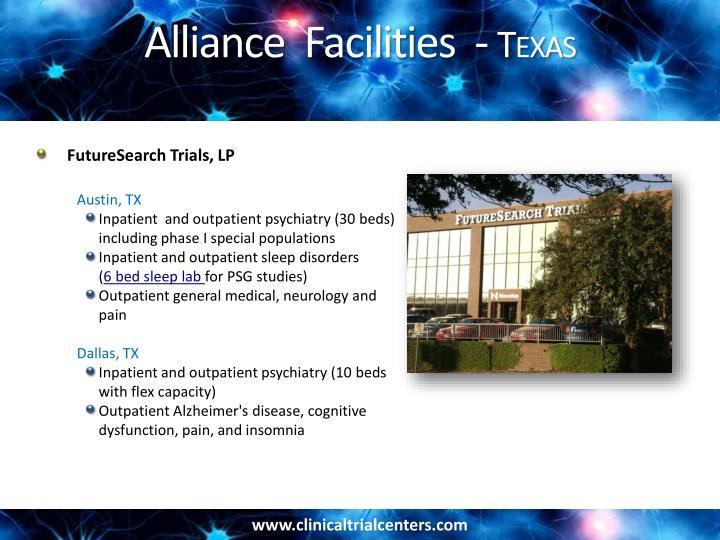 Alliance  Facilities  -