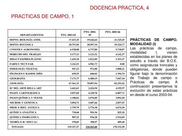 DOCENCIA PRACTICA, 4