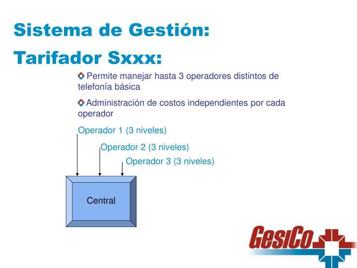 Sistema de Gestión: