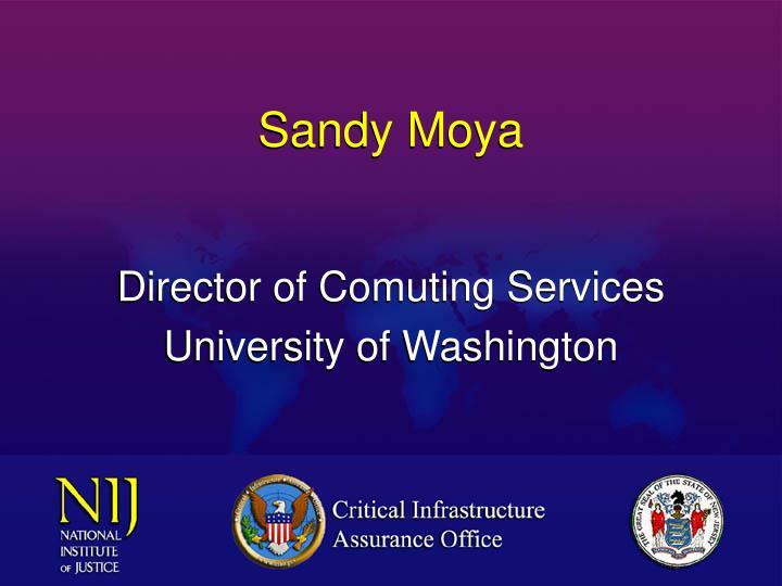 Sandy Moya