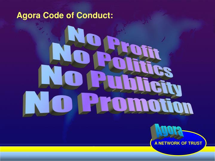 Agora Code of Conduct: