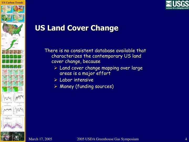 US Land Cover Change