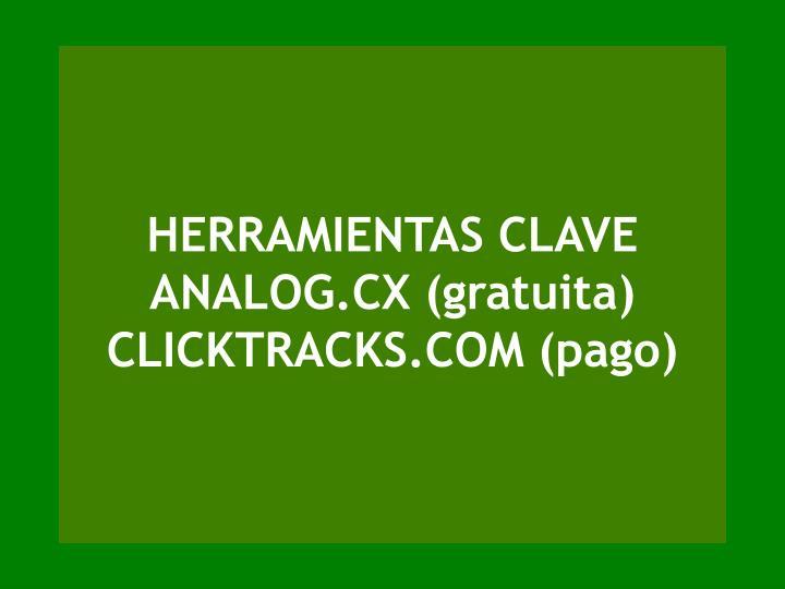 HERRAMIENTAS CLAVE