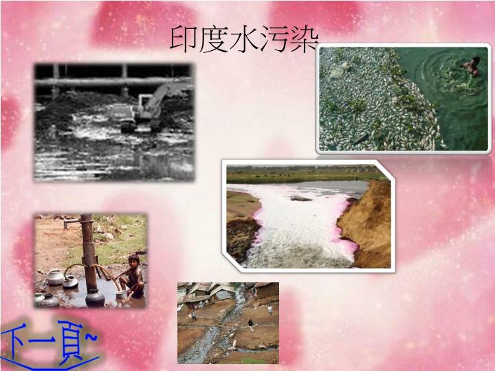 印度水污染