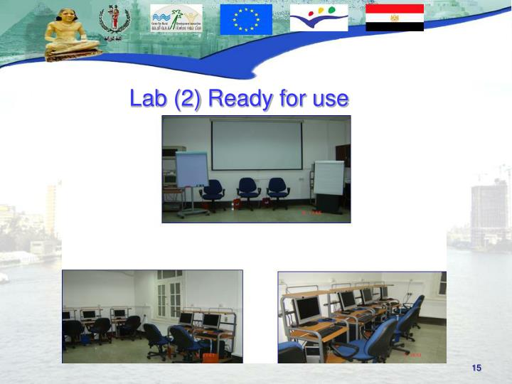 Lab (2) Ready for use
