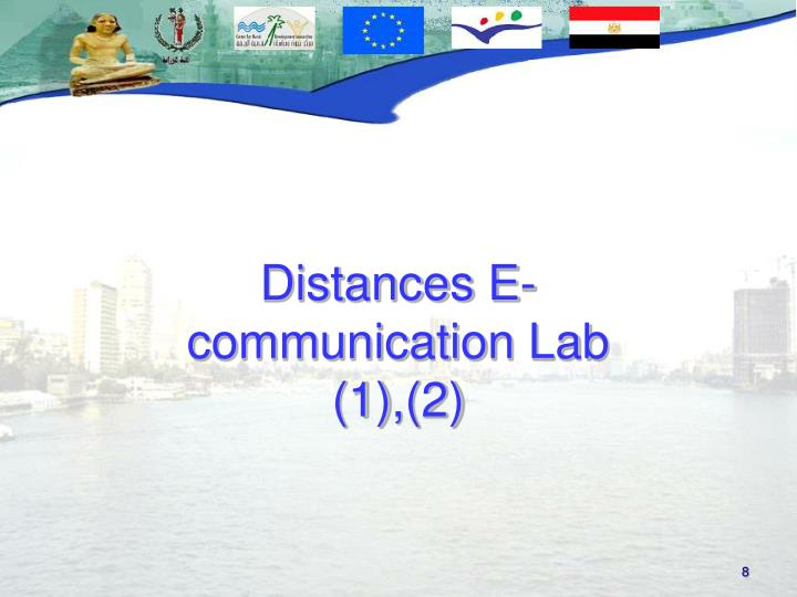 Distances E-communication Lab (1),(2)