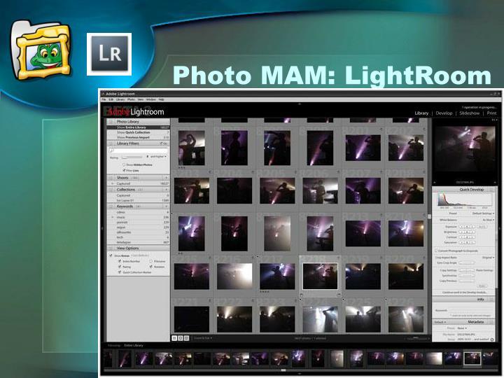 Photo MAM: LightRoom