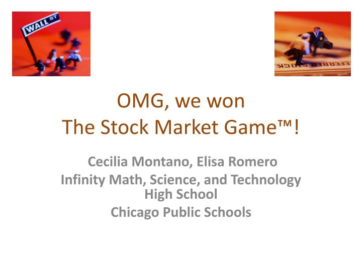 Omg we won the stock market game