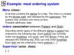 example meal ordering system3