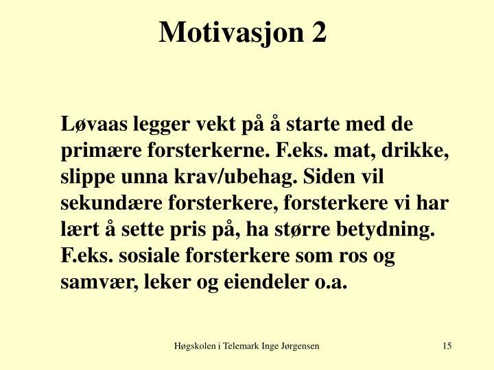 Motivasjon 2