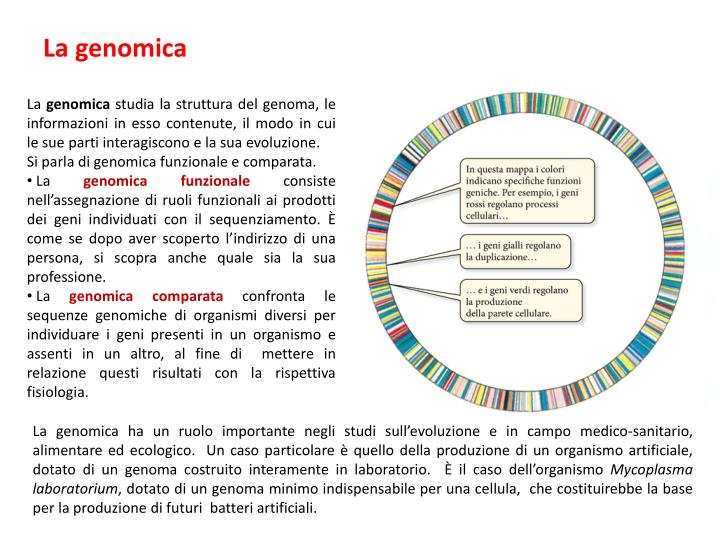 La genomica