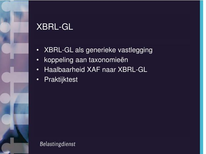 XBRL-GL
