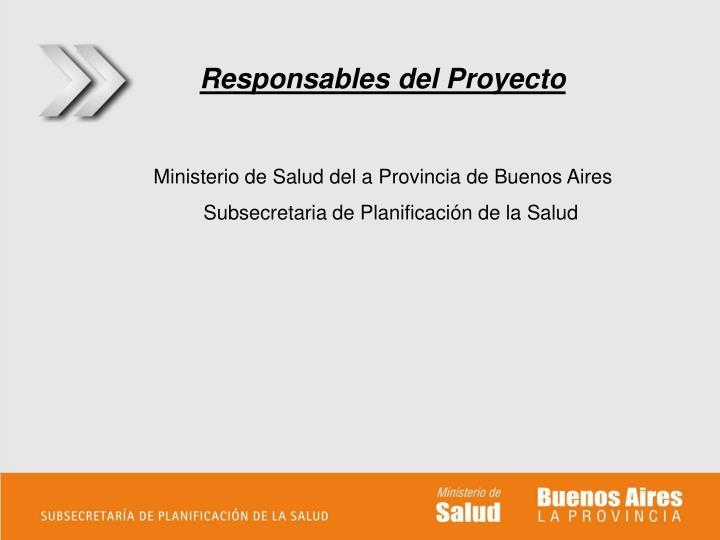 Ministerio de Salud del a Provincia de Buenos Aires