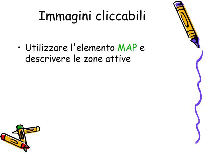 Immagini cliccabili