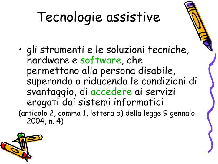 Tecnologie assistive