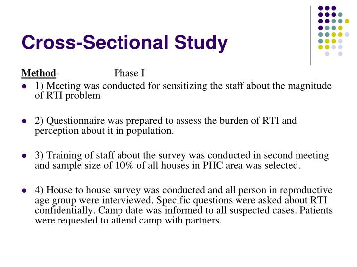Cross-Sectional Study