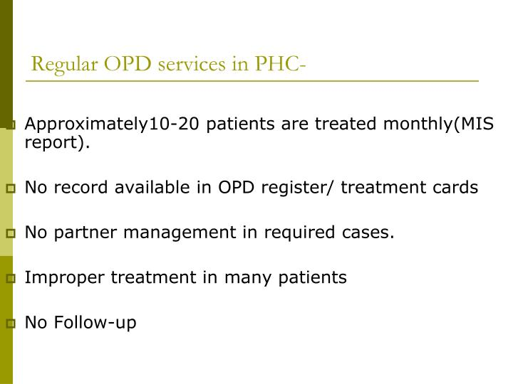 Approximately10-20 patients are treated monthly(MIS report).
