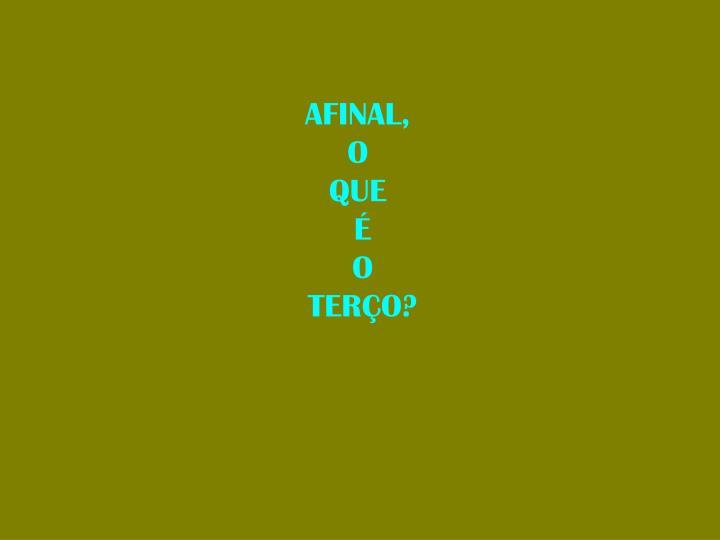 AFINAL,