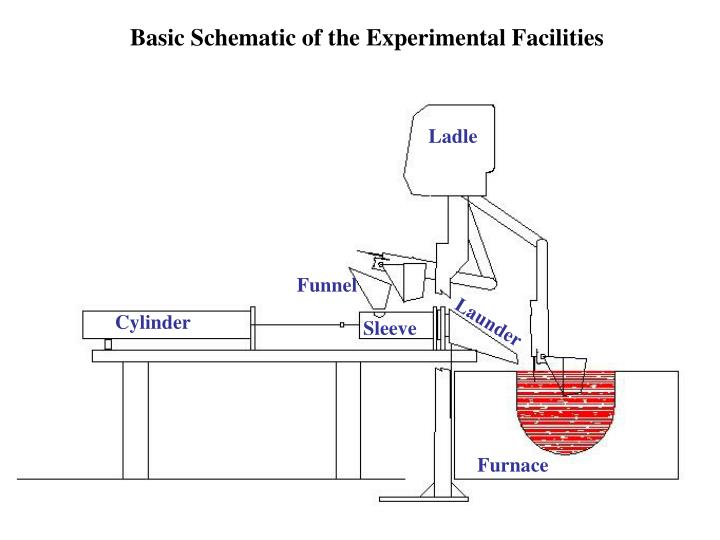 Basic Schematic of the Experimental Facilities