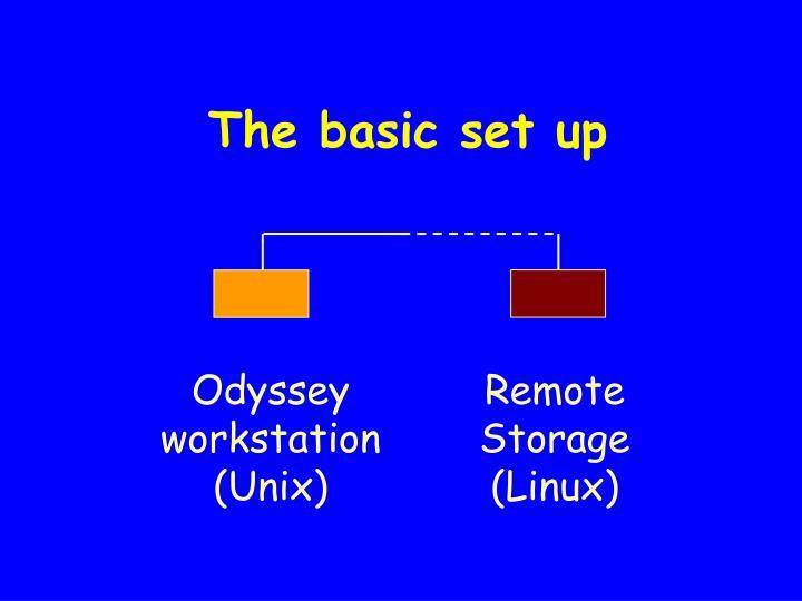 The basic set up