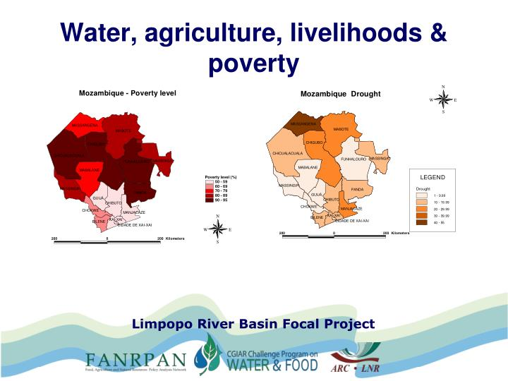 Water, agriculture, livelihoods & poverty