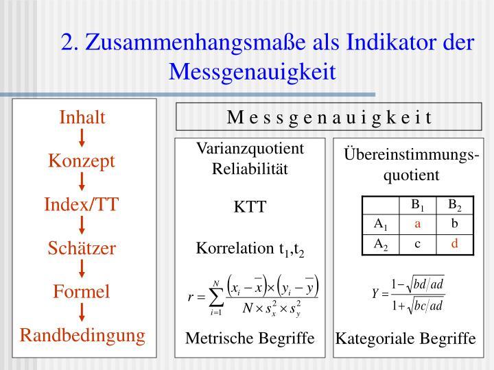 Varianzquotient