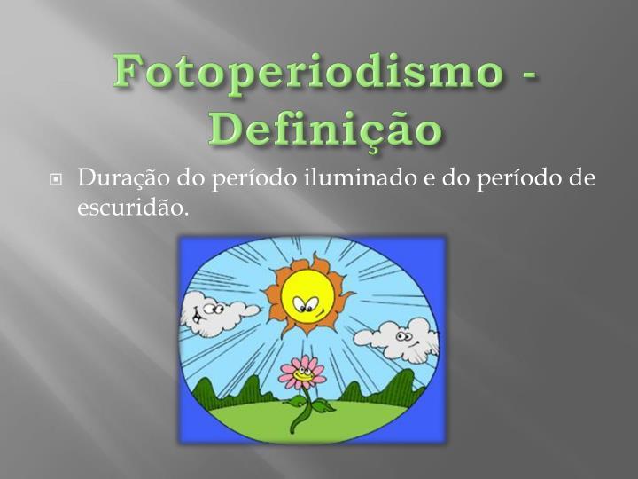 Fotoperiodismo - Definição