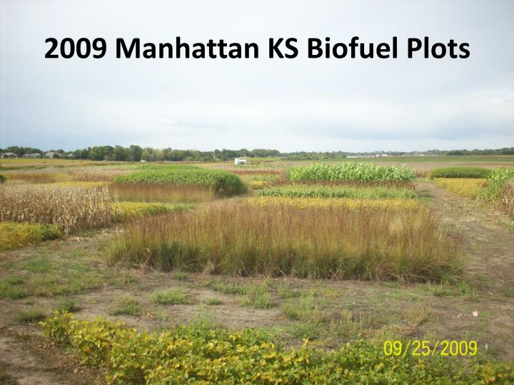 2009 Manhattan KS Biofuel Plots