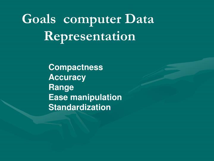 Goals  computer Data